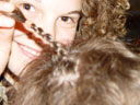 mina and my brand-new plait