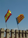 spanish and valencian flag