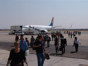 arrival in windhoek