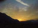 sunrise in the inntal valley