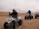 quadbike-trip in the golden dunes near swakopmund