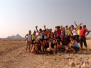 first group photo, near spitzkoppe