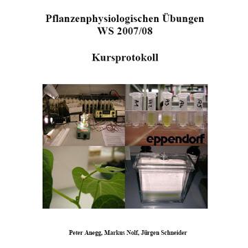 Pflanzenphysiologische Übungen - Kursprotokoll