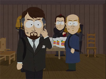 scene from south park