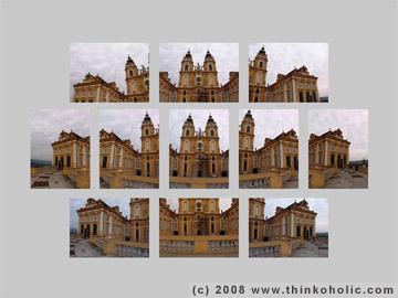 11 photos of the collegiate church at melk abbey