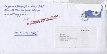 ein persönlicher, vertraulicher, extrem eiliger brief von berthold von graatz