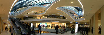 panorama: the new kaufhaus tyrol shopping center