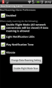 real roaming alert for android, preferences