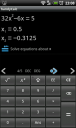 handycalc: quadratic equation