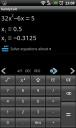 handycalc: quadratic equation