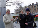 clemens, lisa and stefan - what it really was like. 2004-04-13, Sony Cybershot DSC-F717.