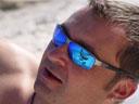 tom, reflecting in armin's sunglasses. 2004-09-28, Sony Cybershot DSC-F717.
