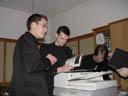 cantus borg: fabio, gregor and martin. 2005-03-25, Sony Cybershot DSC-F505.