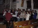 the easter-youth-choir. 2005-03-26, Sony Cybershot DSC-F505.