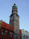 innsbruck's town tower