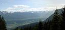 panorama: das inntal, östlich von innsbruck || foto details: 2005-05-20, rum, austria, Sony Cybershot DSC-F717.