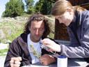 toni, bernadette und luis || foto details: 2005-06-11, kaunerberg / kaunertal valley / austria, Sony Cybershot DSC-F717.
