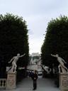 phooning statues in mirabell garden