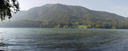 panorama: fuschlsee lake. 2005-10-08, Sony Cybershot DSC-F717.