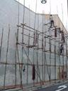 scaffolding, near chinatown. 2005-11-10, Sony Cybershot DSC-F717.