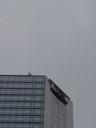 a basejumper, waving down from a skyscraper.... 2005-11-10, Sony Cybershot DSC-F717.