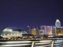 singapore's skyline. 2005-11-12, Sony Cybershot DSC-F717.