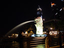 the merlion - peter told me it has nothing to do with real singaporean mythology