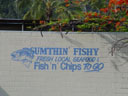 sumthin' fishy - original name for a fish&chips outlet