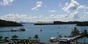 panorama: der hafen von airlie beach, shute harbor || foto details: 2005-11-29, airlie beach / qld / australia, Sony Cybershot DSC-F717.