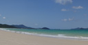 panorama: whitehaven beach