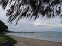the beach, hervey bay