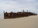 the maheno shipwreck. 2005-12-01, Sony Cybershot DSC-F717.