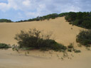 sand dune - note the two tourists on the right