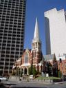 albert street uniting church. 2005-12-03, Sony Cybershot DSC-F717. keywords: kirche, backstein, brick building