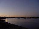 sunset near marine park