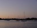 sunset near marine park. 2005-12-04, Sony Cybershot DSC-F717. keywords: sailboat