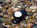 . 2005-12-05, Sony Cybershot DSC-F717. keywords: rocky beach, colorful stones, bunte steine,