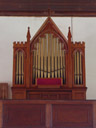 the 1856 walker pipe organ, st. thomas anglican church. 2005-12-05, Sony Cybershot DSC-F717.