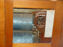 the 1856 walker pipe organ, st. thomas anglican church. 2005-12-05, Sony Cybershot DSC-F717.