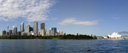 panorama: skyline of sydney