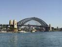 sydney harbour bridge. 2005-12-07, Sony Cybershot DSC-F717.