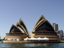 sydney opera house, from a different point of view