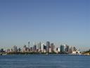 sydney's skyline, as seen from taronga zoo
