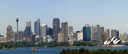 panorama: sydney's skyline, as seen from taronga zoo. 2005-12-07, Sony Cybershot DSC-F717.