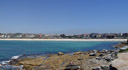 panorama: view over bondi beach