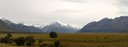 panorama: mount cook