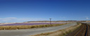 panorama: dominion salt works, lake grassmere