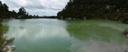 panorama: lake ngakoro
