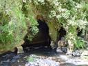 eingang zur höhle || foto details: 2006-01-06, near waitomo, new zealand, Sony DSC-F717.
