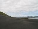 kawhia's dark-grey beach. 2006-01-07, Sony DSC-F717.